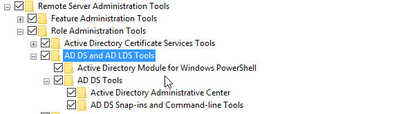 Windows 10: Utilidades de directorio activo